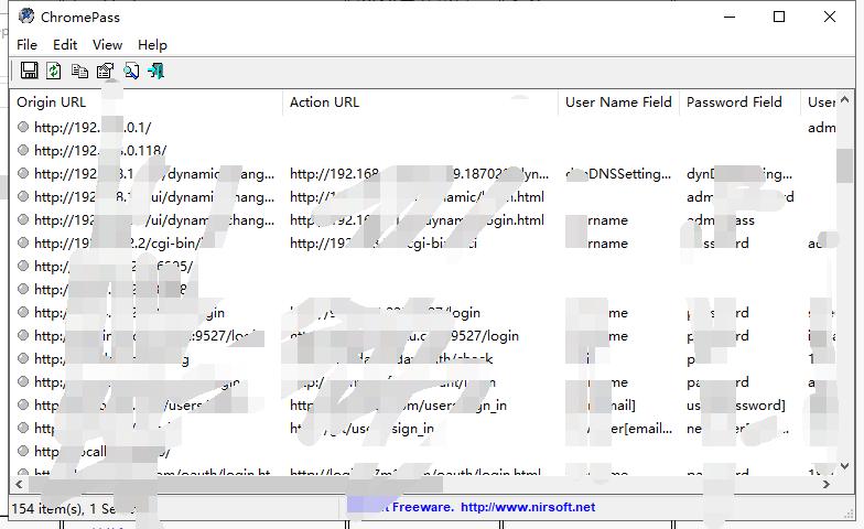 利用ChromePass读谷歌浏览器已保存密码